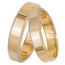 Βέρες γάμου- αρραβώνα Κ14 χρυσές ανατομικές 032394 034394 Χρυσός 14 Καράτια μεμονωμένο τεμάχιο