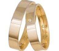 Βέρες αρραβώνα από χρυσό 14 καρατίων 035859 035859 Χρυσός 14 Καράτια μεμονωμένο τεμάχιο