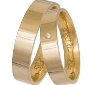 Βέρες γάμου ή αρραβώνα από χρυσό Κ14 035860 035860 Χρυσός 14 Καράτια μεμονωμένο τεμάχιο