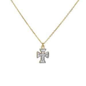 Χρυσό πετράτο σταυρουδάκι 14Κ 036110 036110 Χρυσός 14 Καράτια