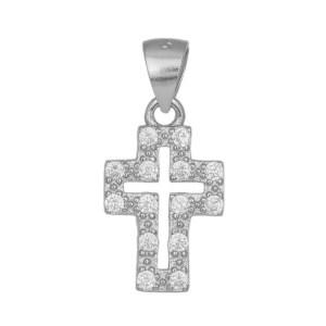 Ασημένιος πετράτος σταυρός 925 036290 036290 Ασήμι