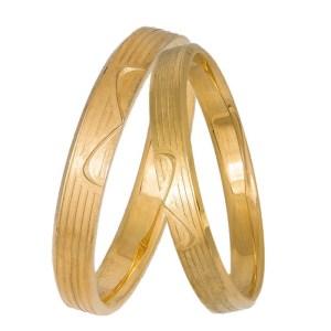 Βέρες χρυσές Κ14 Infinity 037330 037330 Χρυσός 14 Καράτια μεμονωμένο τεμάχιο