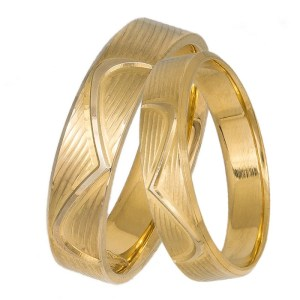 Χρυσές βέρες Κ14 με σύμβολο το άπειρο 037332 037332 Χρυσός 14 Καράτια μεμονωμένο τεμάχιο