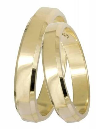Χρυσές βέρες κλασικές 9Κ 9BRS061 9BRS061 Χρυσός 9 Καράτια