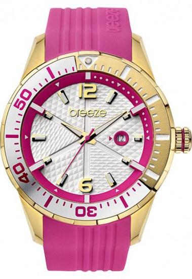 Breeze Επίχρυσο Ρολόι 110201.9