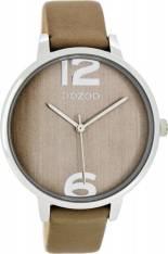 Γυναικείο ρολόι OOZOO Timepieces Brown Leather strap C7972 C7972 2018