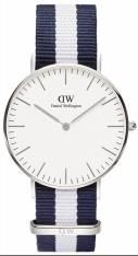 Daniel Wellington ρολόι Classic Glasgow Silver Lady 36,00mm 0602DW 0602DW Ατσάλι 2018