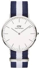 Daniel Wellington Classic Glasgow Silver 40,00mm ρολόι 0204DW 0204DW Ατσάλι 2018