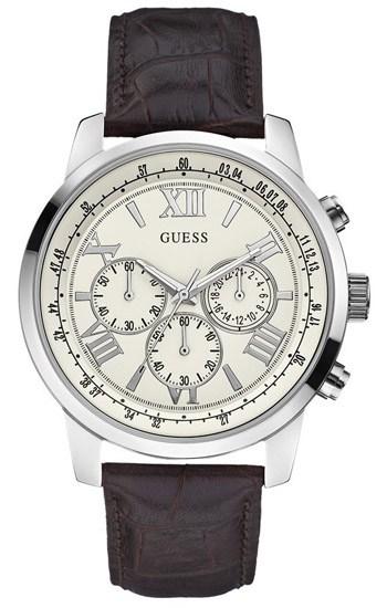 Αντρικό κλασικό ρολόι Guess W0380G2