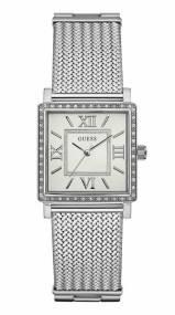 Ρολόι Guess Bracelet με τετράγωνο καντράν W0826L1 W0826L1 Ατσάλι