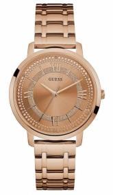 Guess ρολόι Rose gold bracelet με πέτρες W0933L3 W0933L3 Ατσάλι