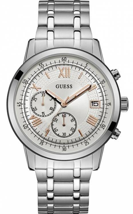 Guess ρολόι Chronograph ανδρικό W1001G1 W1001G1 Ατσάλι