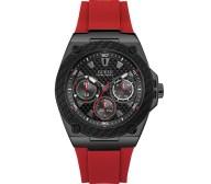 Ανδρικό ρολόι Guess Red Watch Multifunction W1049G6 W1049G6 Ατσάλι