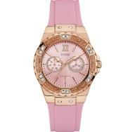 Guess ροζ gold ρολόι by Jennifer Lopez W1053L3 W1053L3 Ατσάλι