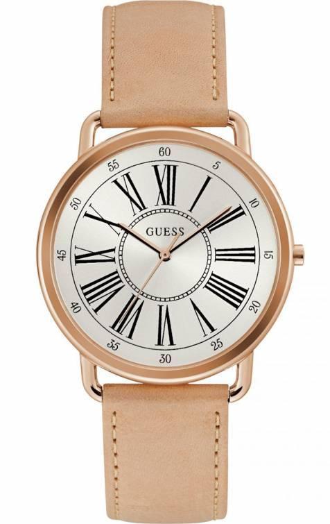GUESS ρολόι γυναικείο ροζ gold W1068L5 W1068L5 Ατσάλι