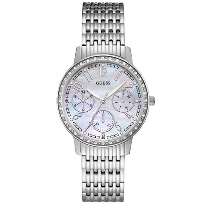 Guess Multifunction ρολόι γυναικείο με μπρασελέ W1086L1 W1086L1 Ατσάλι