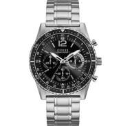 Ανδρικό ρολόι Guess με χρονογράφους και μπρασελέ W1106G1 W1106G1 Ατσάλι