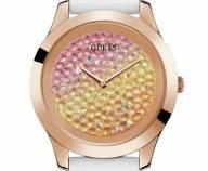 Ρολόι Guess Crystal Pink Gold and White W1223L3 W1223L3 Ατσάλι
