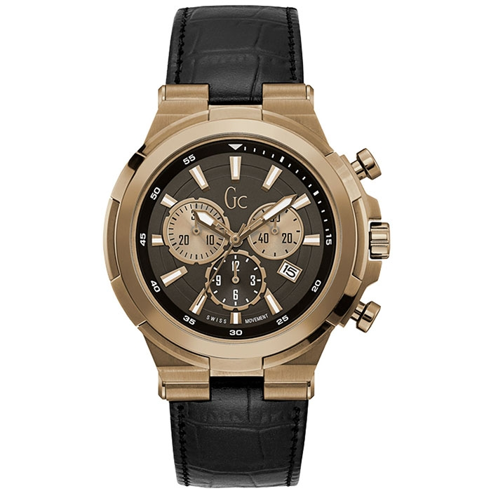 Ρολόι ανδρικό Guess Collection Quartz Chronograph Y23012G2 Y23012G2 Ατσάλι