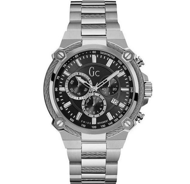 Ρολόι Guess Collection Bracelet με χρονογράφους Y24003G2 Y24003G2 Ατσάλι
