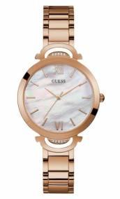 Ρολόι ροζ gold με μπρασελέ Guess W1090L2 W1090L2 Ατσάλι