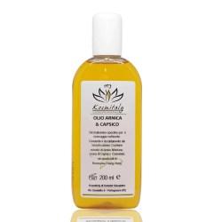 Olio Arnica Capsico Da Massaggio Anti Infiammatorio Start Oil 200 ml - Kosmitaly