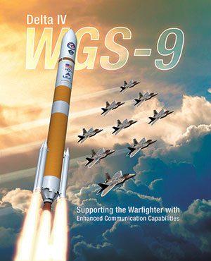 Plakát Delty IV, která si na svůj start bude muset zřejmě počkat až po Falconu.