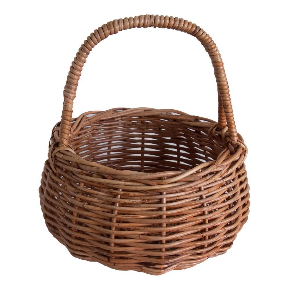 Rattan Egg Basket  Kosmopolitan
