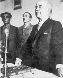 Ο Αλέξανδρος Σβώλος ορκίζεται πρόεδρος της ΠΕΕΑ. Φωτογραφία: Σπύρος Μελετζής