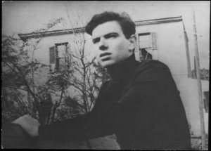 Ο Βασίλης Βασιλικός σε νεανική φωτογραφία στις αρχές της δεκαετίας του '50