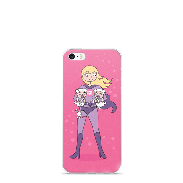 Supermom twins Iphone 4, 5, 6