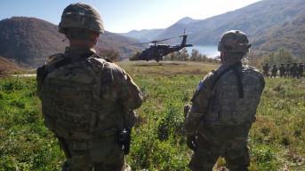 Vojnici Kfora na severu Kosova
