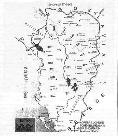 Kosovo War Map