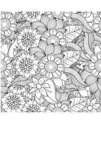 Ausmalbilder Blumen Für Erwachsene Ausmalbilder Fr Erwachsene