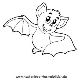 GRATIS AUSMALBILDER FLEDERMAUS FREE DOWNLOAD - Ausmalbilder