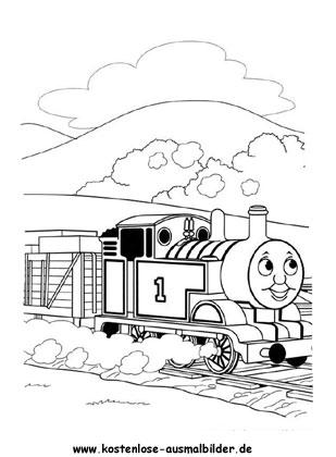 Ausmalbilder Thomas Die Lokomotive Ausmalbild Fernsehen