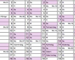 Ausmalkalender kostenlos ausdrucken  Kalender ausmalen