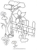 Gartenzaun Malvorlage   Coloring and Malvorlagan