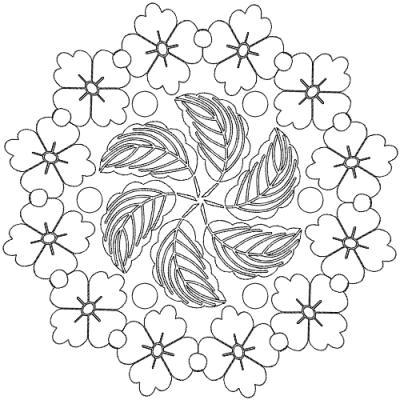 Malvorlagen - Ausmalbilder Herbst Mandala Malvorlagen