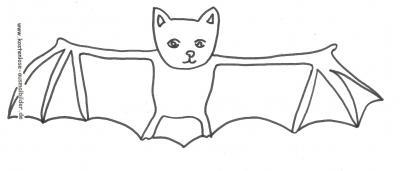 Malvorlagen Ausmalbilder Fledermaus Helloween