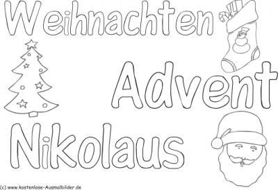 Bilder Advent Zum Ausmalen - bilder19