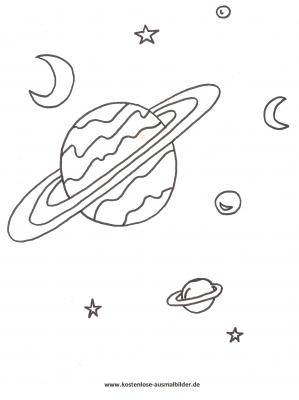 Ausmalbilder Planeten Ausmalbilder Planeten ausmalen