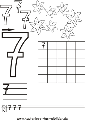 Zahlen Schreiben Ben Zahlen Schreiben Ben Ausmalen