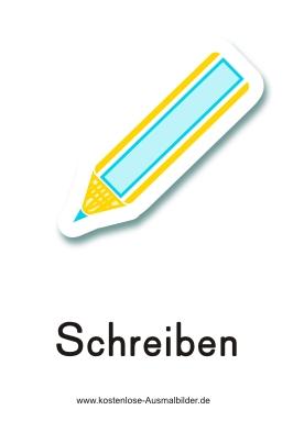 Piktogramme Schreiben  SchreibenPiktogramm Schule