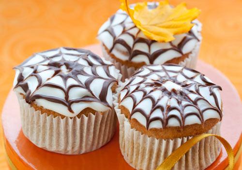 Rezept Halloween Muffins  einfaches Rezept mit Bild
