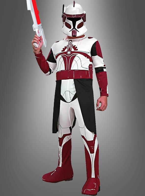 Clone Commander Fox Kostm Fr Kinder Star Wars
