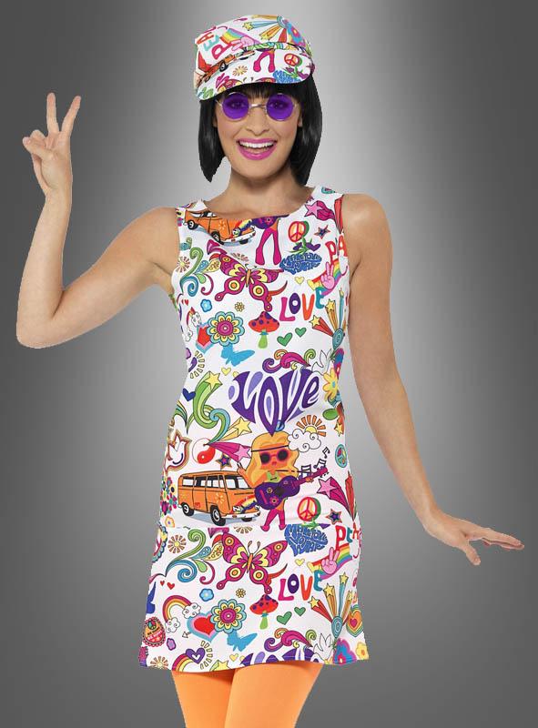 kleid hippie style für