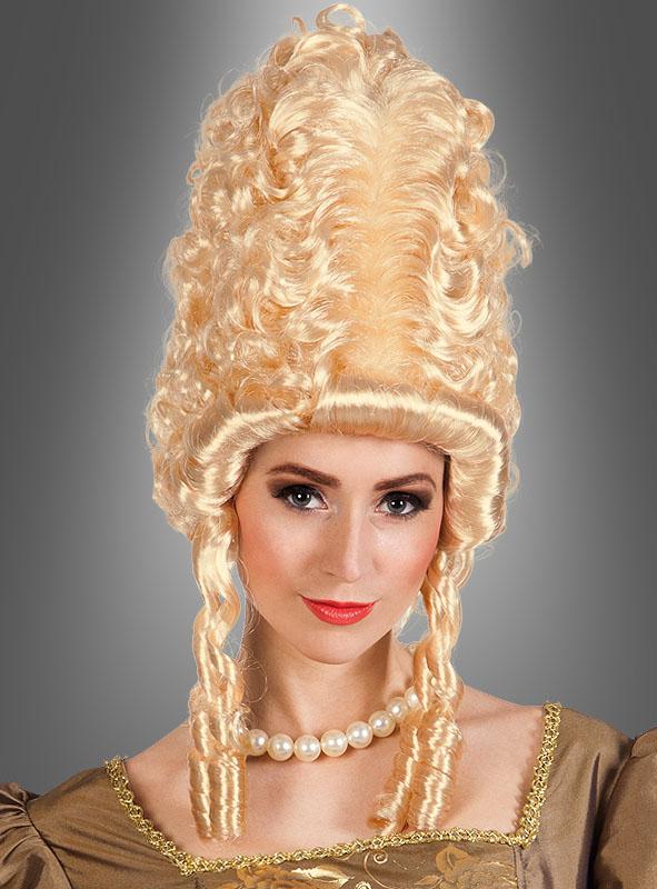 Marie Antoinette Frisur Perücke Bei Kostuempalast De