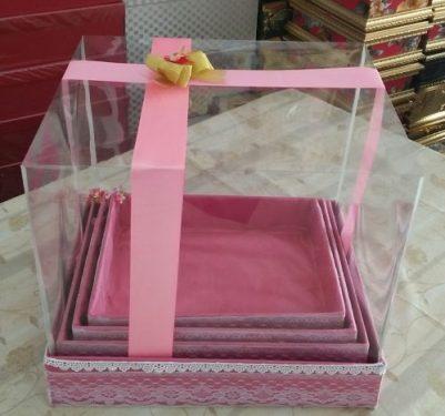 harga kotak hantaran seserahan pernikahan make up full mika