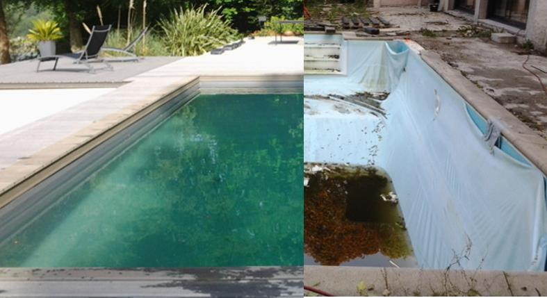 Rnovation complte dune piscine extrieure  Koteo